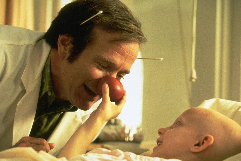 Robin Williams em Patch Adams (1998)