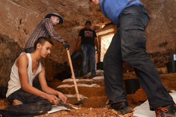 A escavação onde as inscrições foram encontradas data de mais de 2 mil anos atrás