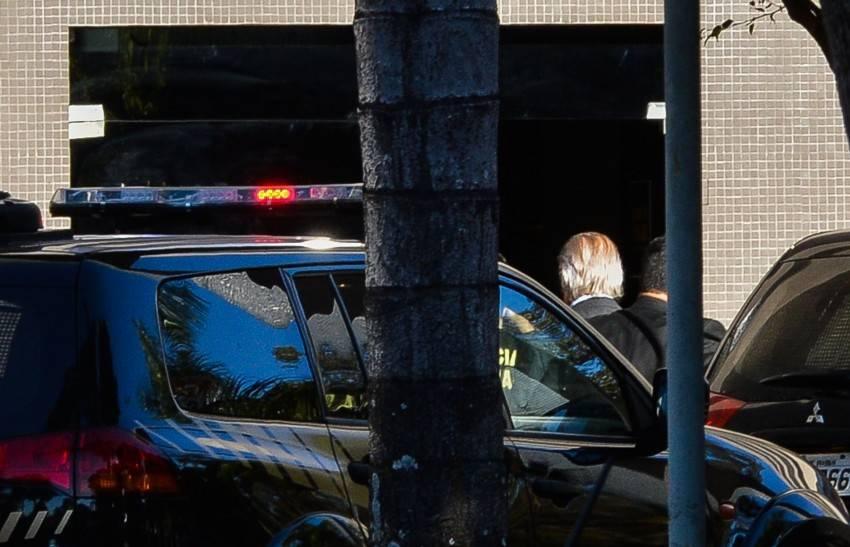 O ex-ministro José Dirceu foi preso em Brasília, pela Polícia Federal, na 17ª fase da Operação Lava Jato.