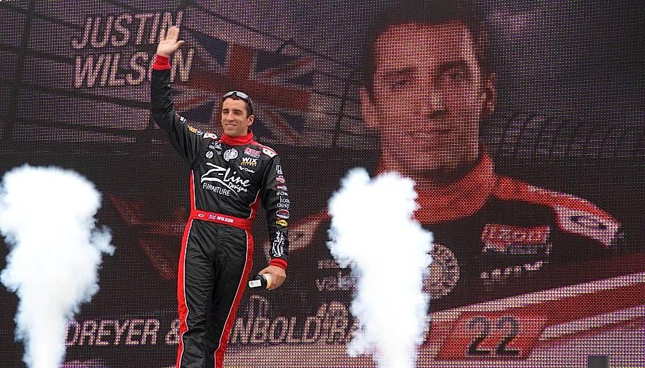 O piloto britânico de Indy Car Justin Wilson