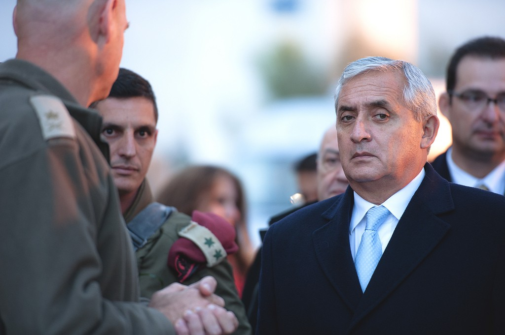 O presidente da Guatemala, Otto Perez Molina