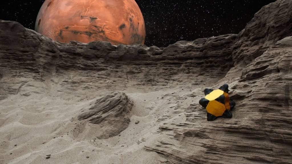 """A sonda-robot Hedgehog, onovo """"ouriço"""" da NASA"""