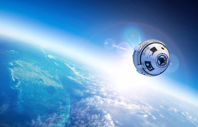 Boeing Starliner: brevemente, numa órbita perto de si