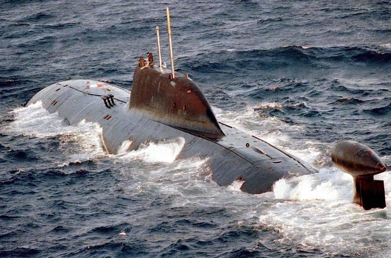 Submarino russo K-322 Cachalot, classe Akula