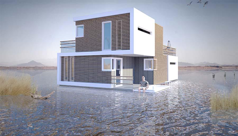"""A """"Casa Pré-nupcial"""" é uma casa que se divide em duas a pensar nos casais que se divorciam"""