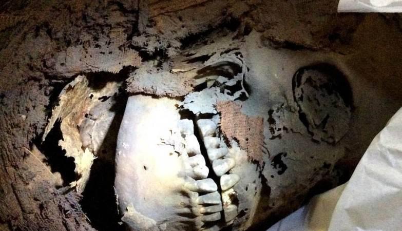 Múmia egípcia com 4.200 anos