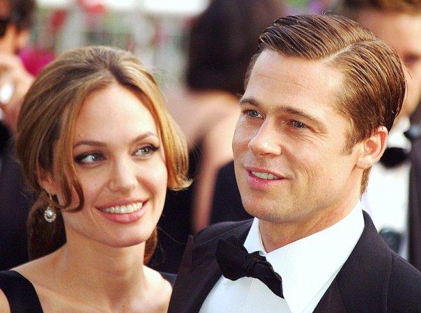 Angelina Jolie e Brad Pitt em Cannes