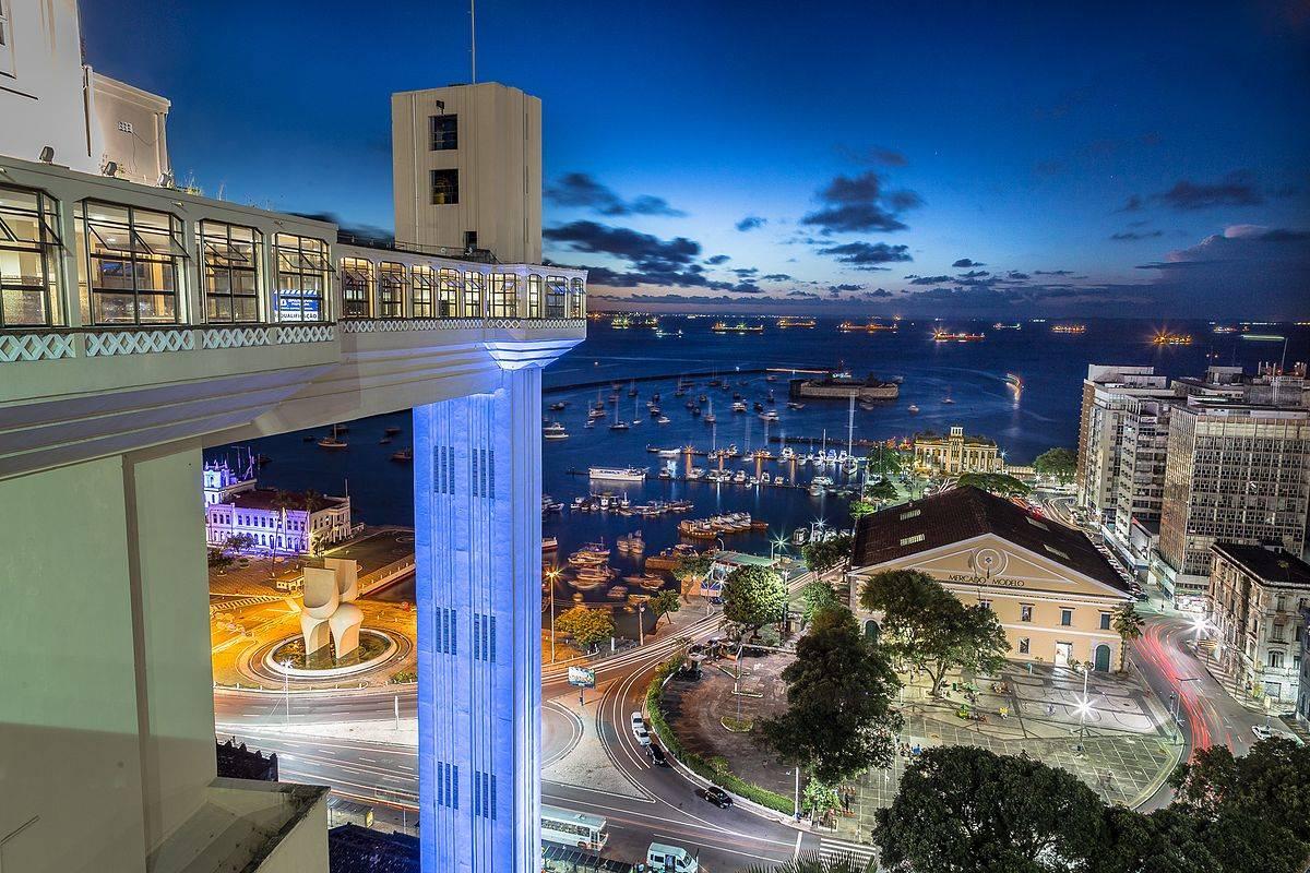 A imagem que retrata o Elevador Lacerda, em Salvador (BA), terminou o WLM 2015 Brasil em terceiro lugar.