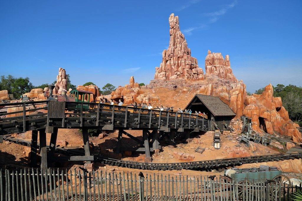 Big Thunder Mountain Railroad no Walt Disney World