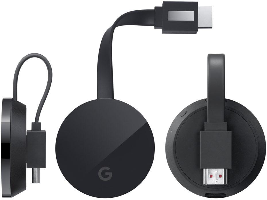 Imagens do novo Cromecast Ultra