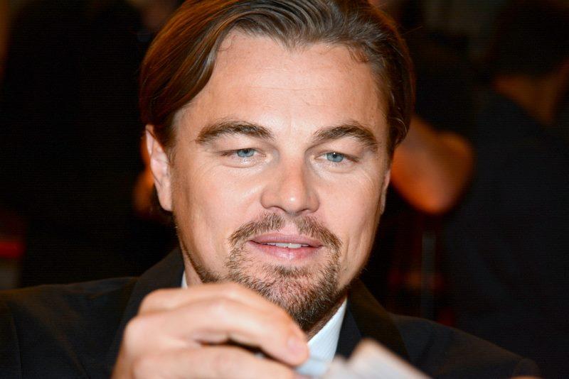 O ator Leonardo di Caprio