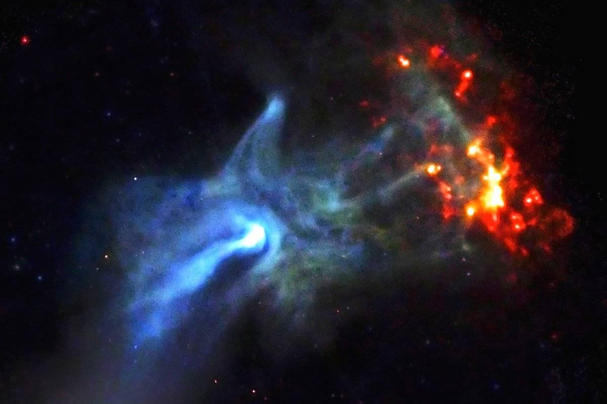 """Resultado de imagem para NASA encontra """"a mão de Deus"""" no espaço"""