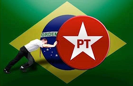 Resultado de imagem para pt contra brasil