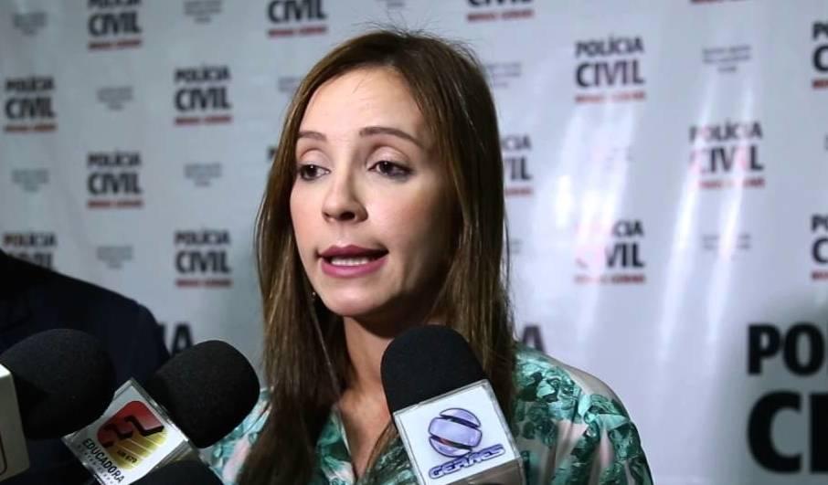 Dra Karine Maia, delegada da Polícia Civil