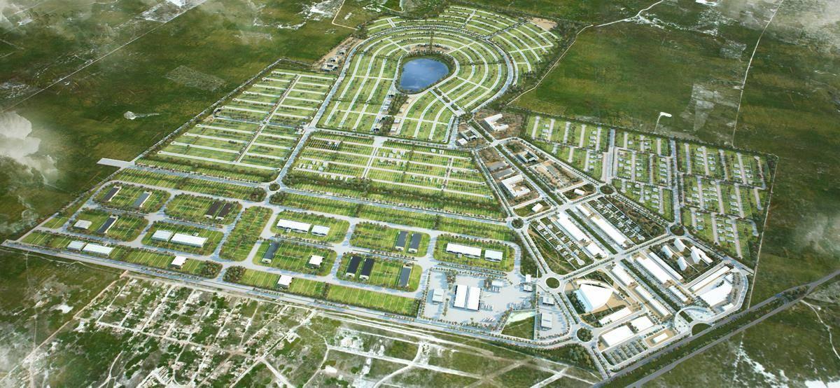 Cidade inteligente para habitação social Planet Idea