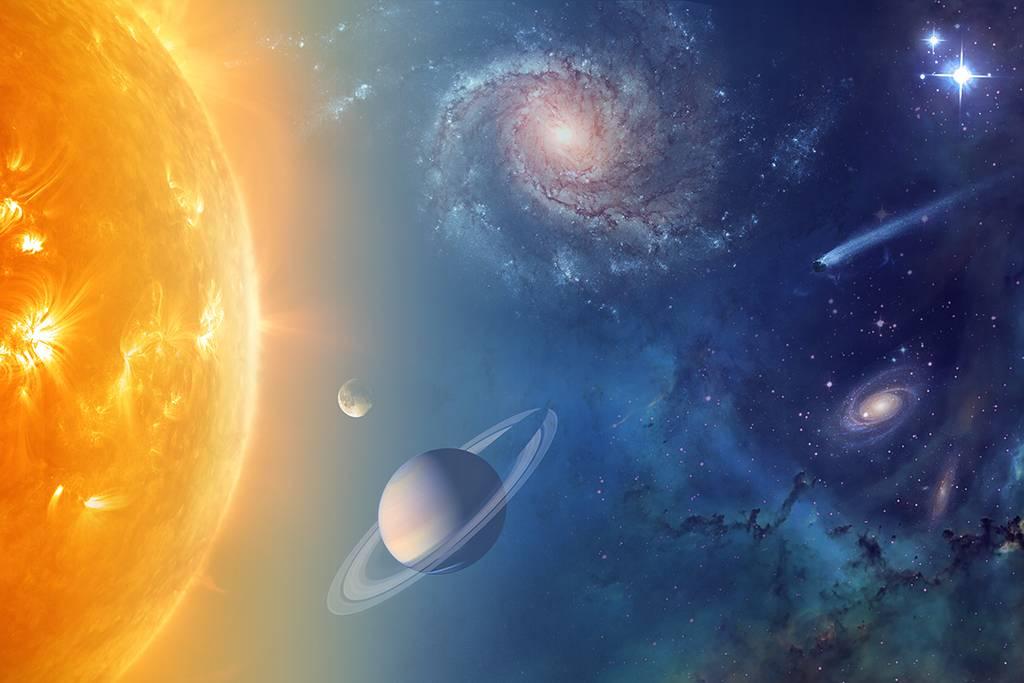 A NASA está a explorar o nosso Sistema Solar e além a fim de compreender o funcionamento do Universo, em busca de água e vida entre as estrelas.