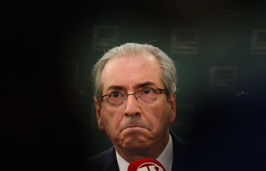 O ex- presidente da Câmara dos Deputados, Eduardo Cunha