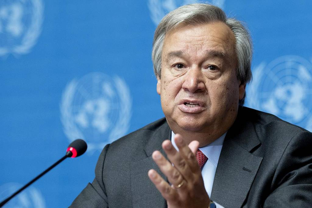 O Alto Comissário das Nações Unidas para os Refugiados, António Guterres, será o próximo secretário-geral da ONU