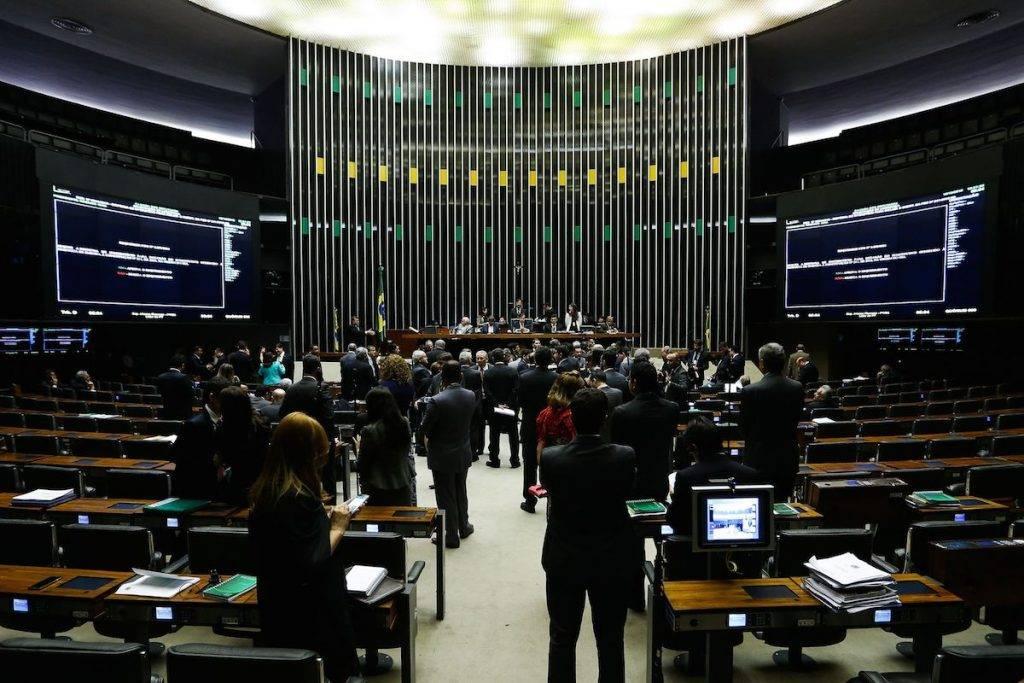 Sessão da Câmara dos Deputados para votação da Proposta de Emenda à Constituição (PEC) 241 de 2016