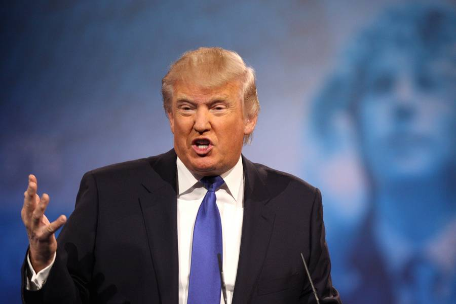 O milionário e candidato republicano às eleições norte-americanas Donald Trump