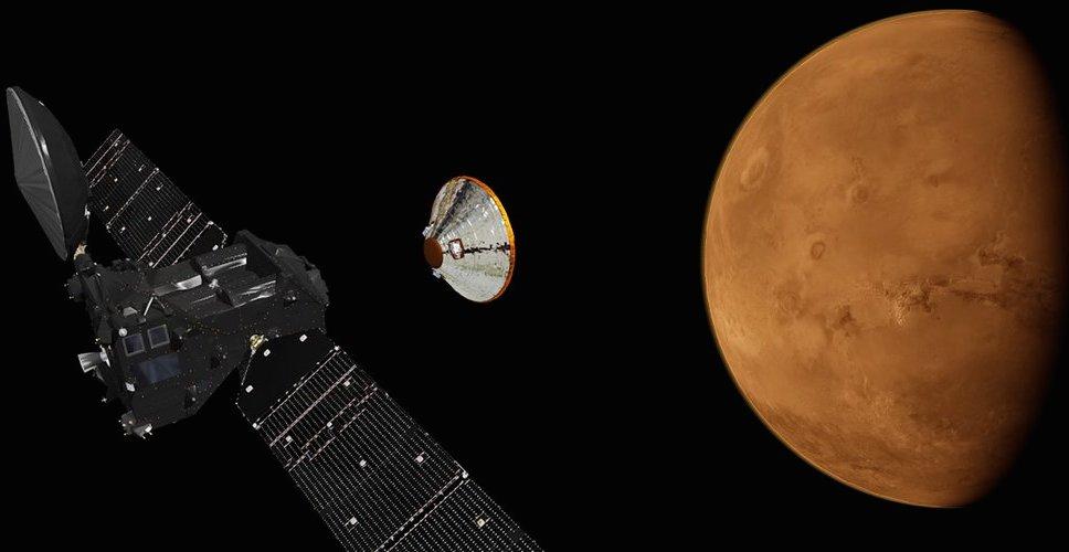 A ExoMars 2016 se aproxima de Marte