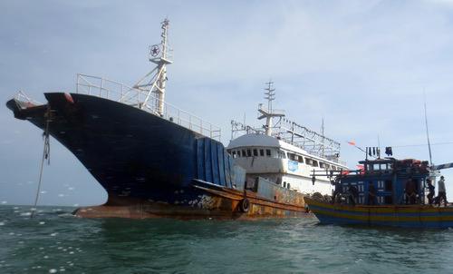 O navio fantasma Qiong Lin Yu