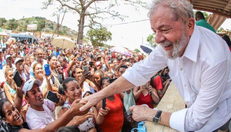 Resultado de imagem para Lula no nordeste