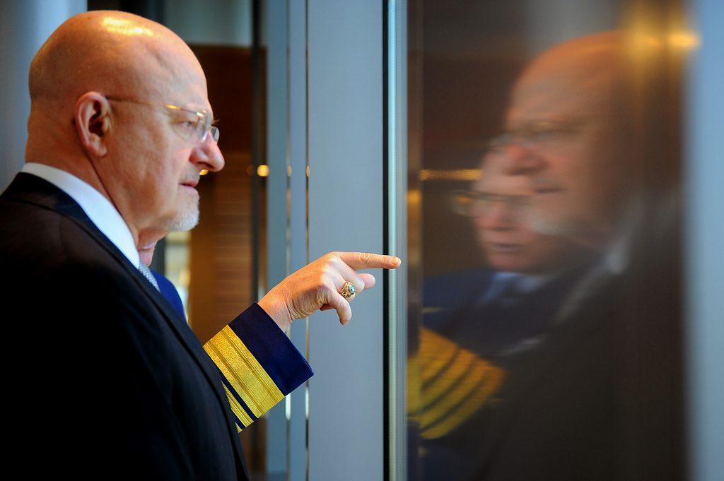 James Clapper, diretor dos serviços secretos norte-americanos