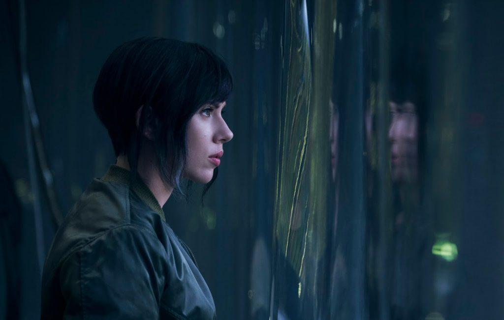 """Scarlet Johansson é  Motoko Kusanagi em """"Vigilante do Amanhã: Ghost in the Shell"""""""