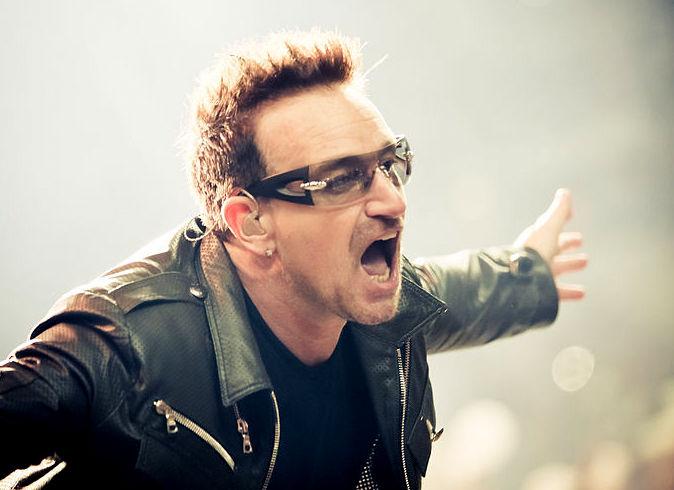 Bono Vox, líder dos U2