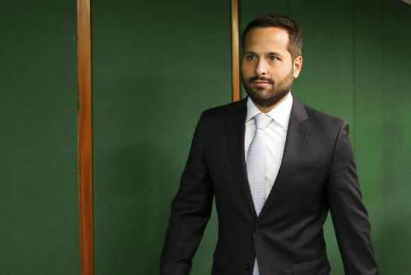 O ministro da Cultura, Marcelo Calero