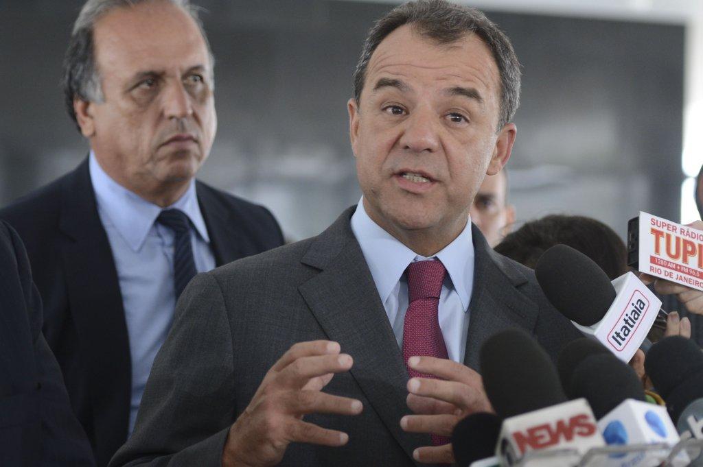 Ex-governadores Luiz Fernando Pezão, Sérgio Cabral