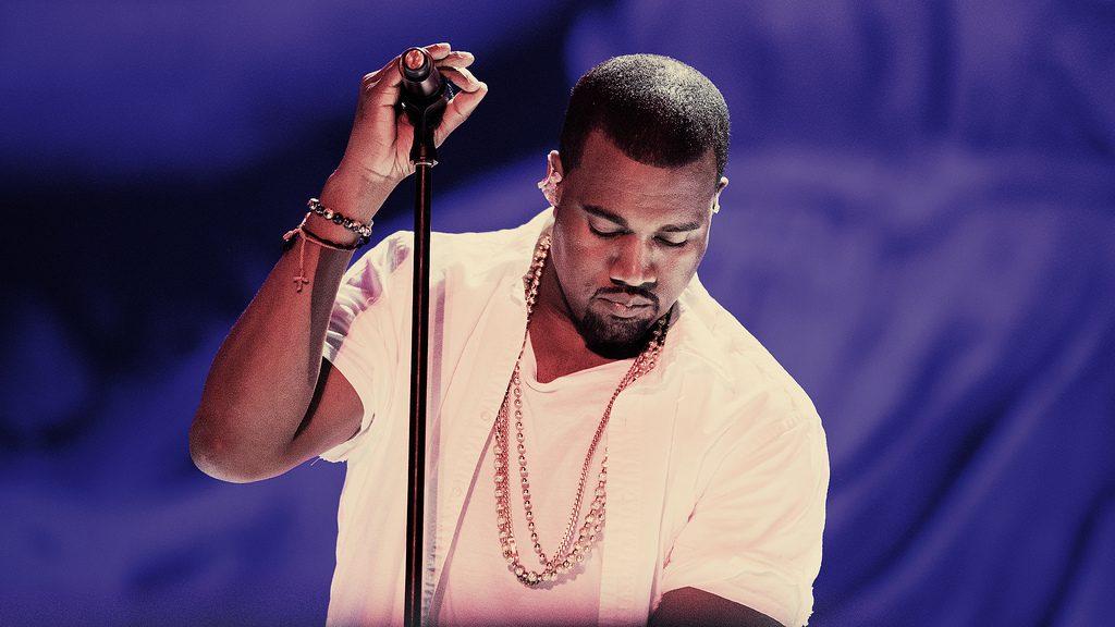 O músico Kanye West