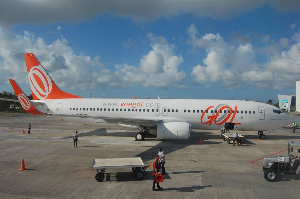 Avião Boeing 737 da Gol