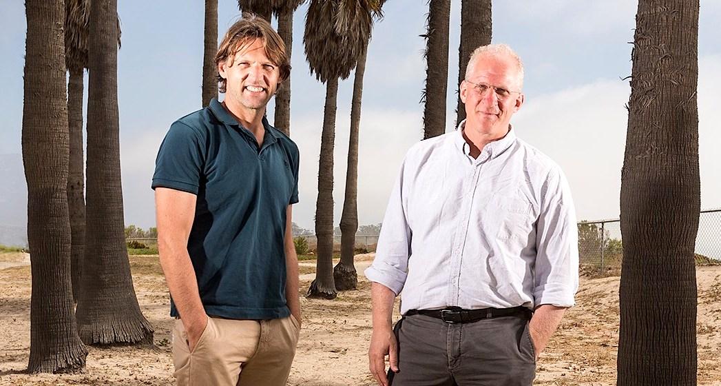 Charles Marcus, diretor do Centro de Dispositivos Quânticos na Dinamarca, e Leo Kouwenhoven, professor holandês e fundador da QuTech