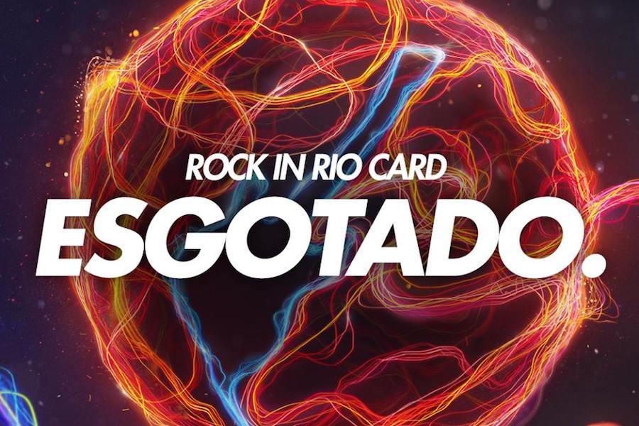 Rock in Rio Card esgotou em 2 horas