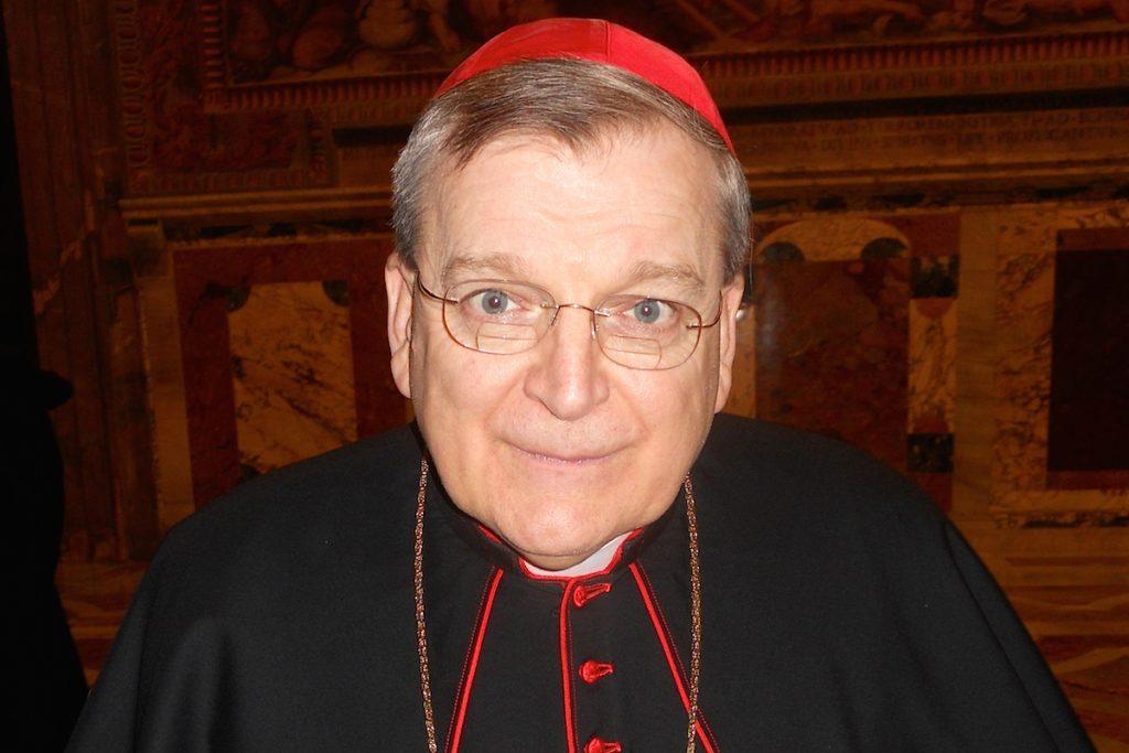 O cardeal Raymond Burke, o único dos signatários que ainda está na ativa, é crítico frequente do papa Francisco.