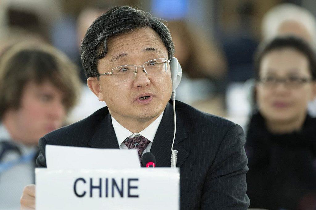 O vice-ministro chinês das Relações Exteriores, Liu Zhenmin