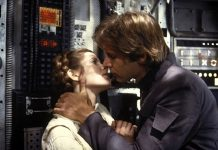 Carrie Fisher, Harrison Ford: princesa Leia e Han Solo. A Força estava com eles.