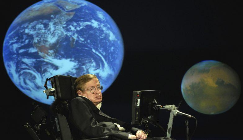 O físico Stephen Hawking