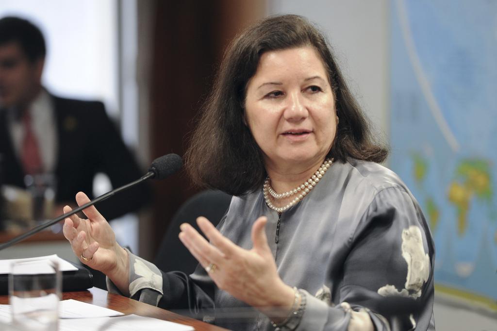 A embaixadora Maria Luiza Ribeiro Viotti