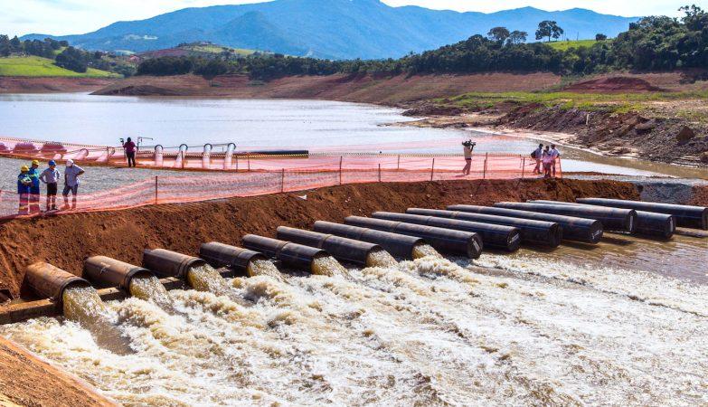 As bombas foram utilizadas na captação das reservas técnicas do Sistema Cantareira durante a crise hídrica no Estado de São Paulo, em 2013.