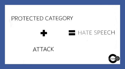 """Fórmula """"básica"""" utilizada pela rede social para definir o que é discurso de ódio e o que não. Difícil mesmo é entender o que são o que ela define por """"categoria protegida"""""""