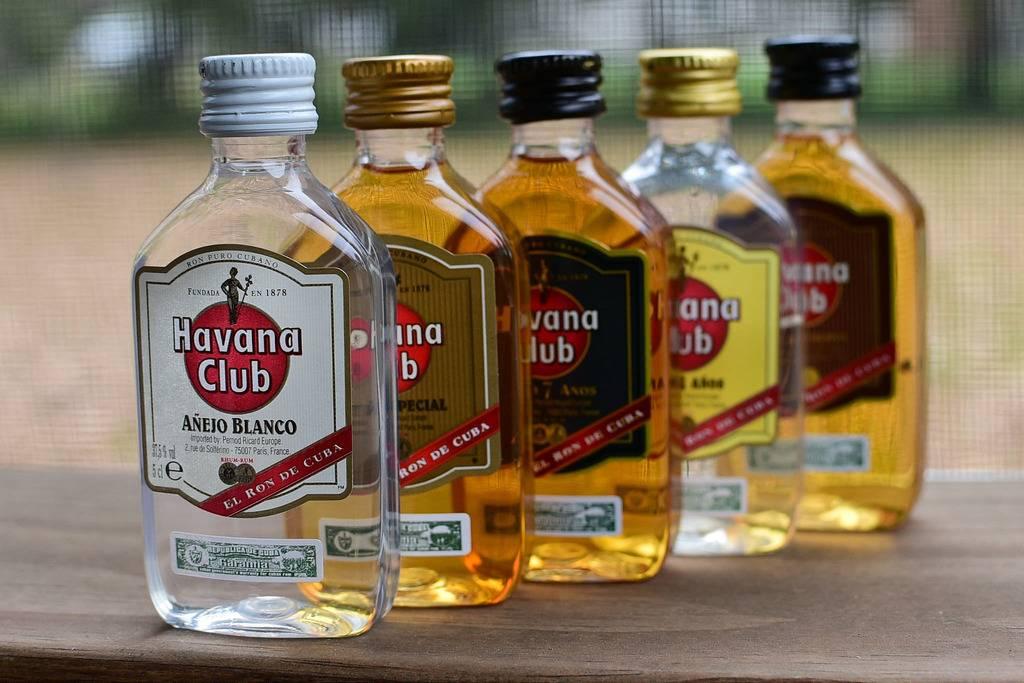 O rum cubano é uma das bebidas mais populares da República Tcheca
