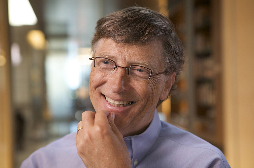 O fundador da Microsoft, Bill Gates