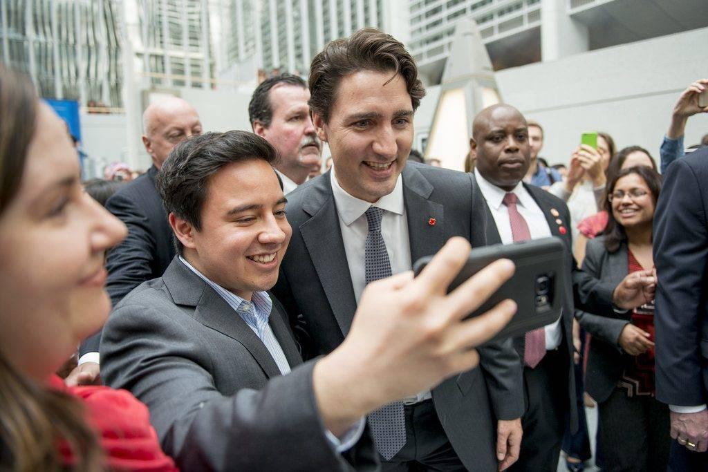 Justin Trudeau, primeiro-ministro do Canadá