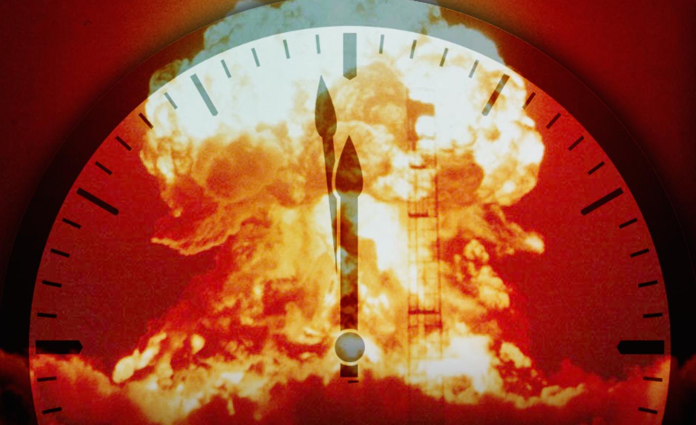 O Relógio do Apocalipse está a 2 minutos e meio da meia noite