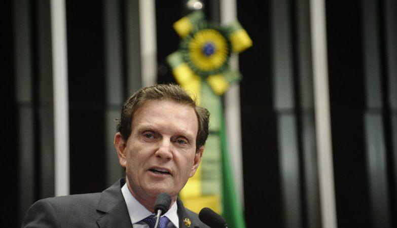 O prefeito do Rio de Janeiro, Marcelo Crivella (PRB-RJ)