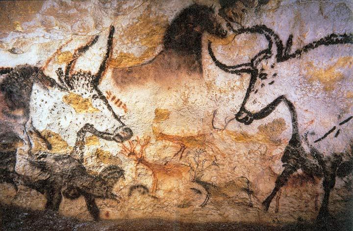Auroque (Bos primigenius) é um bovino extinto em 1627
