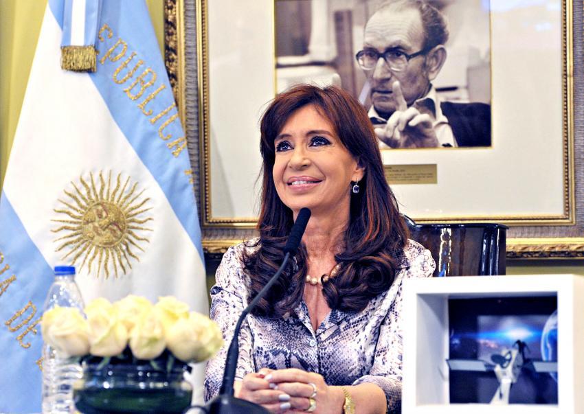 A ex-presidente da Argentina, Cristina Kirchner